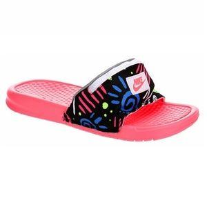 NIKE Unisex Benassi JDI Fanny Pack Slide Sandals
